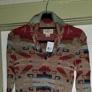 Ralph Lauren shawl collared sweater